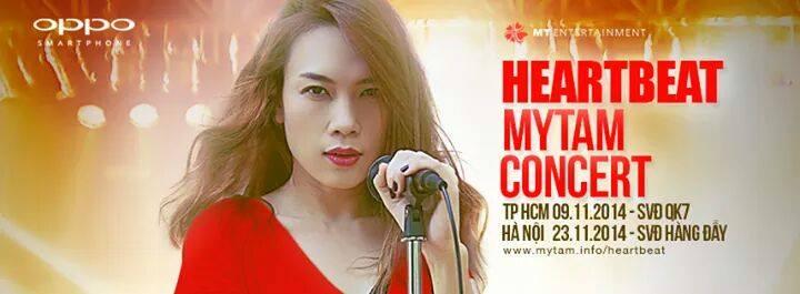 Liveshow concert tour với chủ đề Heartbeat - Nhịp tim