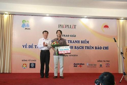 Họa sĩ Lê Phương (Leo) nhận giải