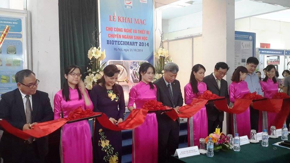 Biotechmart 2014 hướng tới phát triển công nghệ sinh học tại Việt Nam