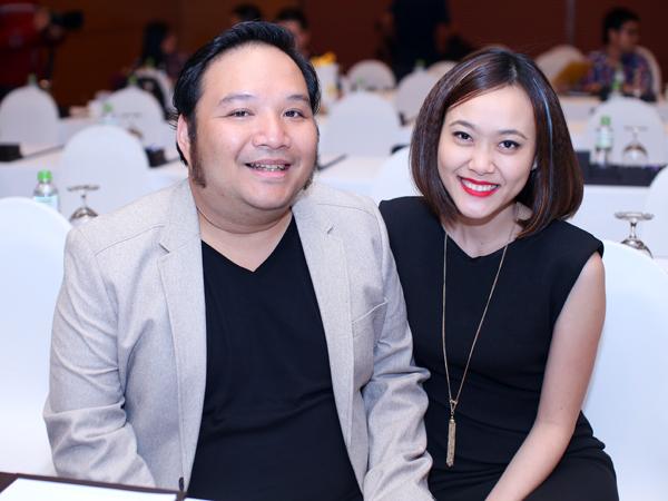 Vợ chồng nhạc sĩ Nguyễn Hà - ca sĩ Minh Trang. Nguyễn Hà là đạo diễn chương trình và đạo diễn âm nhạc.