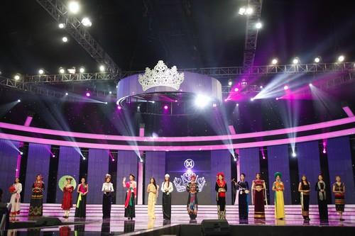 16 cô gái xinh đẹp đã hóa thân khá trọn vẹn trong từng thiết kế, qua đó làm lan tỏa thông điệp của tình đoàn kết, sự gắn bó các dân tộc anh em và tôn vinh sự đa dạng về văn hóa