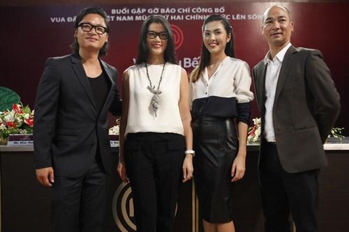 Ba vị Gíam khảo quyền lực của Vua đầu bếp và Gíam khảo khách mời Tăng Thanh Hà