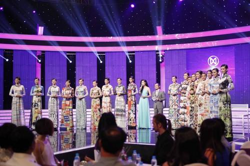 Top 18 Hoa khôi Áo dài Việt Nam 2014 - Đường tới vương miện Hoa hậu Thế giới  đã chính thức ra mắt trong đêm Liveshow mở màn