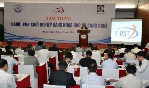 Ban Quản lý dự án Thúc đẩy ĐMST thông qua nghiên cứu KH&CN (FIRST)