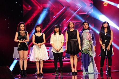 6 cô gái giành được 6 chiếc ghế nóng tiếp theo của Nhân tố bí ẩn.