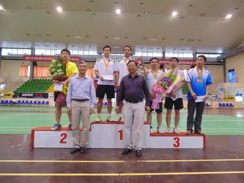 Tổng cục Tiêu chuẩn Đo lường Chất lượng giành giải ba môn thi đấu cầu lông.