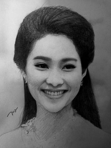 Nét đẹp mộc mạc của hoa hậu Đặng Thu Thảo