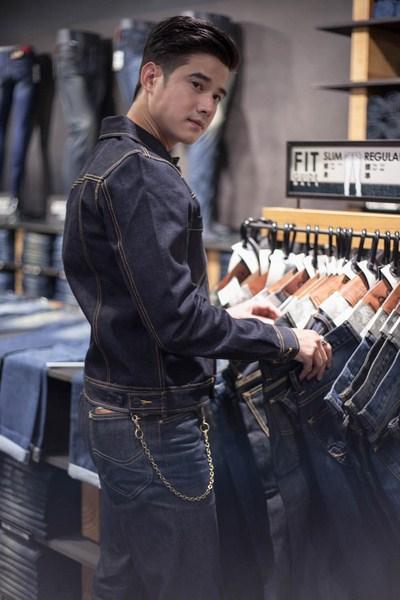 Mario Maurer đã chính thức cho ra mắt dòng sản phẩm jeans của riêng anh tại Bangkok.