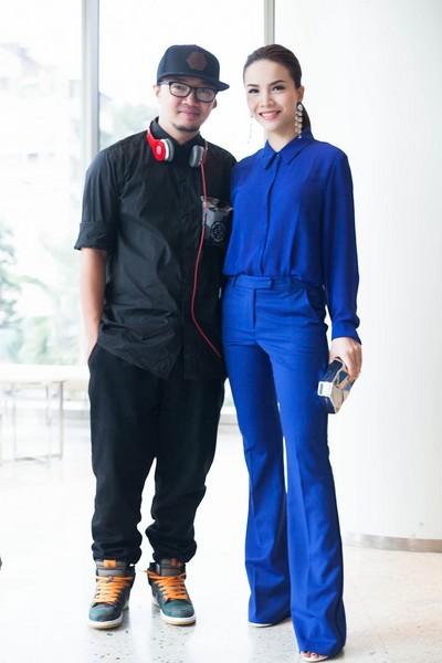 Đồng hành cùng đội Yến Trang chính là biên đạo múa Hà Lê
