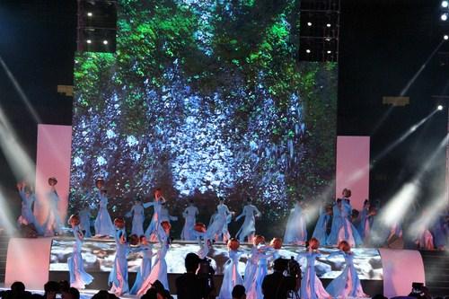 Nước tượng trưng cho sự trung thực. Tre tượng trưng cho trách nhiệm, nghị lực sống của người dân Việt Nam.