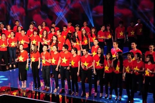 Tiết mục này cũng là phần mở màn cho vòng liveshow của Nhân Tố Bí Ẩn. Với sự tham gia của 16 nhóm thí sinh, cũng như sự góp mặt của hàng loạt các nghệ sỹ, The X-Factor – Nhân Tố Bí Ẩn