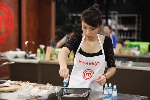 Minh Nhật và Lê Chi chưa bao giờ thử sức với hai nguyên liệu là Thịt thăn bê và Cá bống mú nghệ