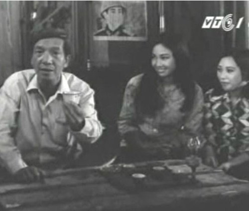 NSND Trịnh Thịnh trong bộ phim Những người đã gặp 1979.
