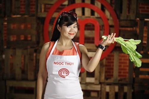 Ngọc Thúy là một ứng viên tiềm năng của Vua đầu bếp 2014