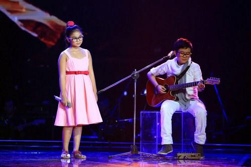 Thiện Nhân là một trong những ứng cử viên sáng giá cho giải quán quân Giọng hát Việt nhí 2014