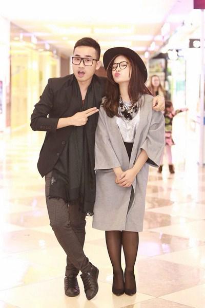 Cặp đôi Hà Duy - Dương Hoàng Yến với sự phối hợp đầy ăn ý trong chương trình Cặp đôi hoàn hảo.