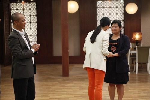 Quỳnh Như là thí sinh đầu tiên phải nói lời chia tay với Vua đầu bếp