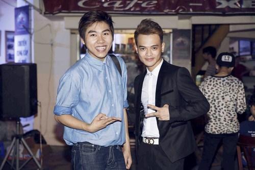 Sơn Paris và Thái Quang The voice.