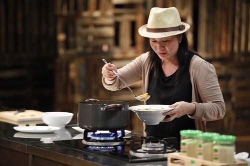 Lê Chi cho rằng để nấu ăn ngon cũng cần phải luyện tập mỗi ngày
