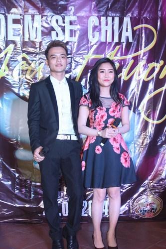 Thái Quang và Thùy Candy cống hiến cho khán giả mà biểu diễn ngọt ngào, sâu lắng.