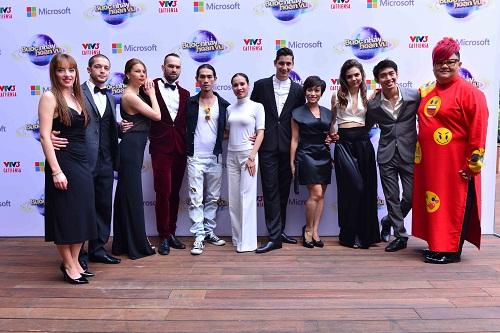 Các nghệ sĩ tham gia Bước nhảu hoàn vũ 2015