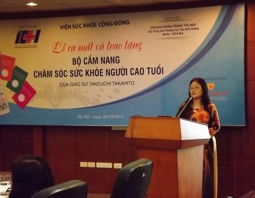 Bà Trịnh Thị Mùi - Chủ tịch Hội đồng Quản trị trung tâm thương mại Thái Bình Dương.