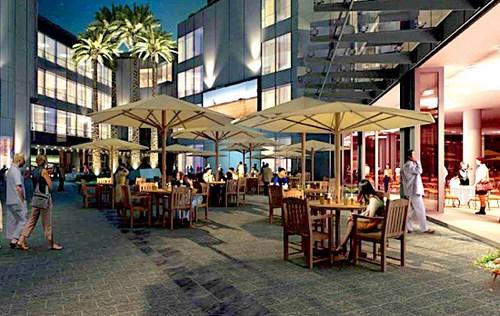 Những nhà hàng sang trọng tọa lạc giữa không gian xanh mát của Indochina Plaza Hà Nội