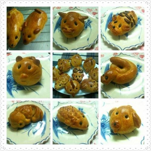 Hình dáng độc, lạ của bánh trung thu handmade