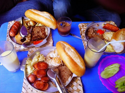 Bánh mỳ chảo Nghĩa Tân