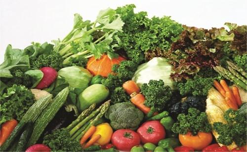 Các loại vitamin thường có nhiều trong các loại rau quả tươi