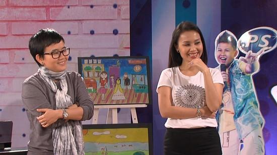Phương Uyên vẫn tham gia Giọng hát Việt Nhí mùa giải năm nay trong vai trò cố vấn của đội chị Tư Cẩm Ly
