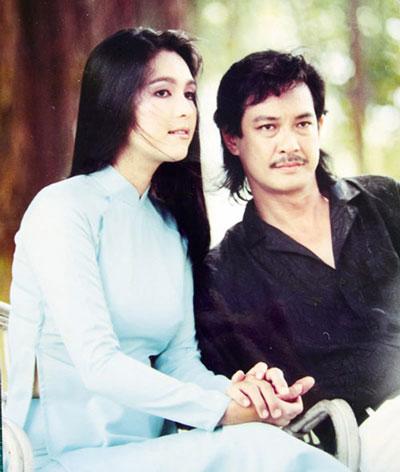 Diễm My- Chánh Tín tạo thành cặp đôi đẹp một thời trên màn ảnh