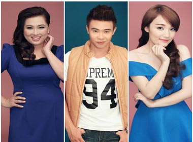 Đông Hùng là ẩn số khó đoán khi lọt vào Top 3 Vietnam Idol cùng với hai cô gái xinh đẹp.