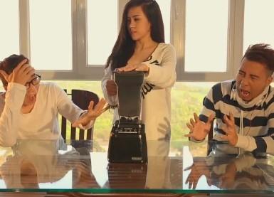 Clip thành công bởi sự kết hợp ăn ý của Karik, Only C và Bà Tưng.