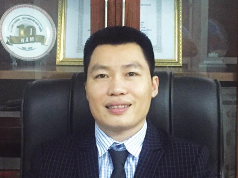 doanh nhân Hoàng Công Đoàn, Chủ tịch HĐQT Công ty cổ phần Đầu tư Sông Thao. Ảnh: báo Đầu tư