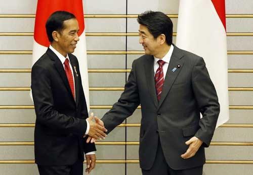 tin tức mới cập nhật hôm nay cho biết Nhật Bản và Indonesia tăng cường hợp tác an ninh