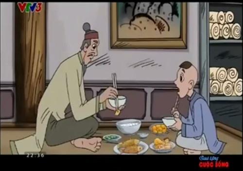 Đọc báo mới nhất hôm nay ngày 21/11: Ảnh chụp màn hình bộ phim hoạt hình Nhặt xương cho thầy