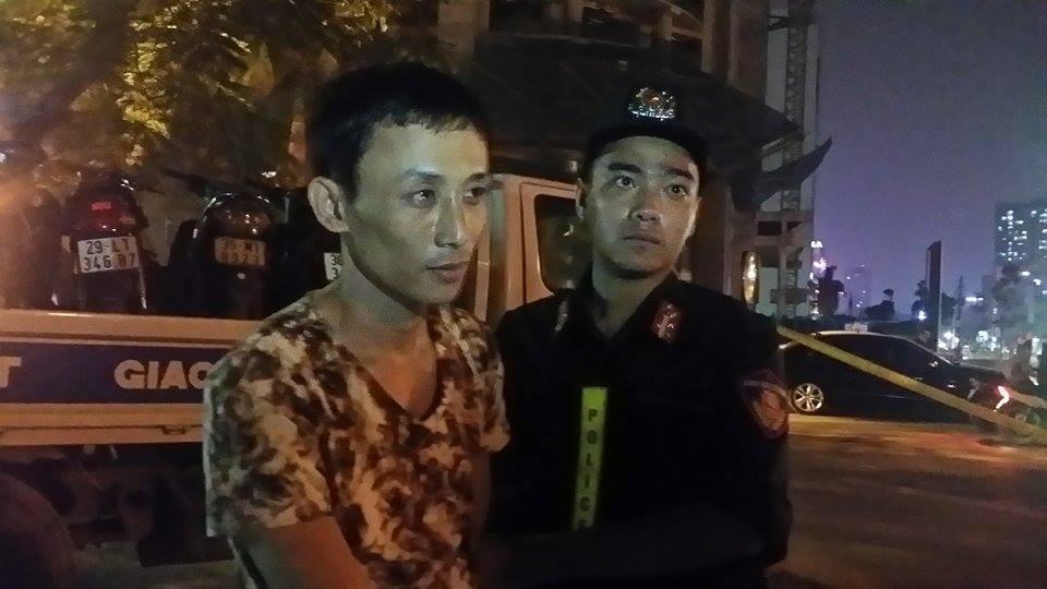 Đối tượng Nguyễn Tùng Linh có những biểu hiện bất thường bị phát hiện đang vận chuyển ma túy