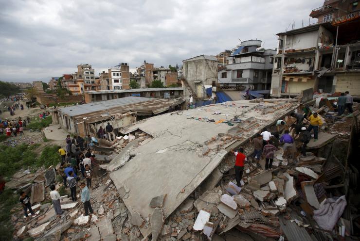 Trận động đất kinh hoàng tại Nepal đã cướp đi sinh mạng của 3.218 người