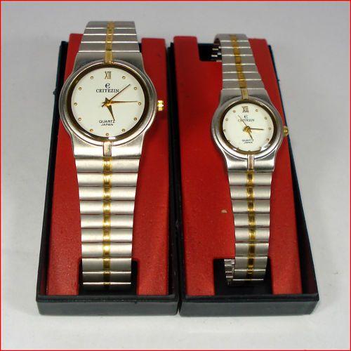 Mẫu đồng hồ cặp tinh tế được sản xuất tại Nhật Bản của thương hiệu Ceitezin