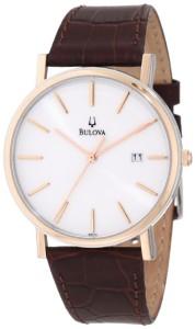 Đồng hồ nam dây da đẹp 2014 của Bulova