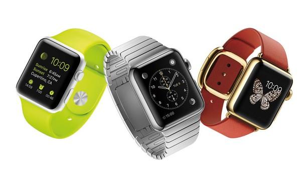 Apple Watch sở hữu nhiều màu đa dạng