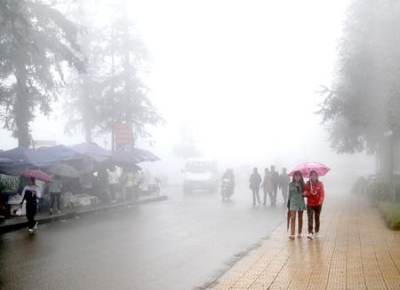 Dự báo thời tiết ngày mai 01/01/2016: Vùng núi rét đậm, rét hại