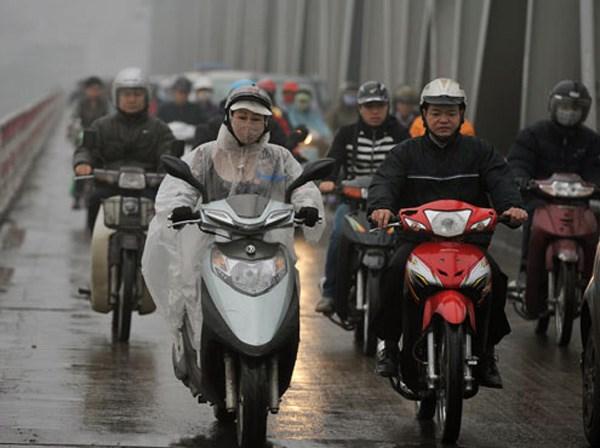 Dự báo thời tiết ngày mai 20/12: Trời rét, có mưa rải rác
