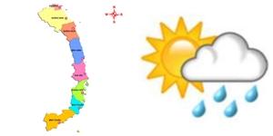 Dự báo thời tiết ngày mai