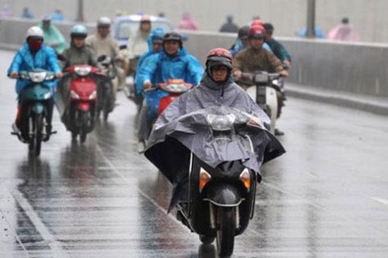 Dự báo thời tiết ngày mai 23/02/2015: mưa rải rác trên khắp cả nước