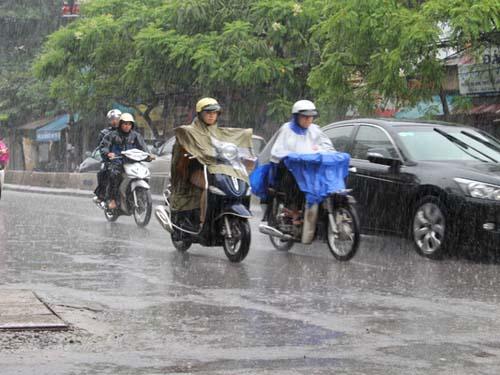 Dự báo thời tiết ngày mai 28/04/2015: Bắc Bộ có mưa rào và dông, ngày nắng