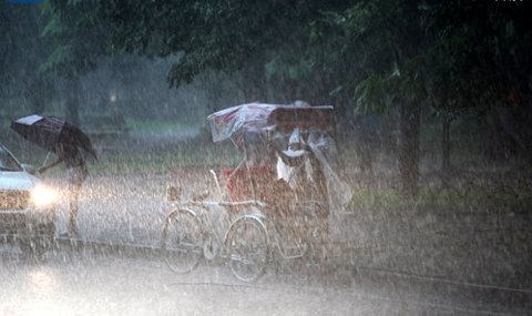 Dự báo thời tiết ngày mai 29/7/2015: Nguy cơ xảy ra lũ quét và sạt lở đất