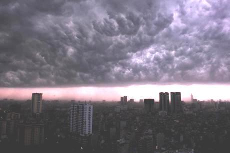 Dự báo thời tiết ngày mai 30/7/2015: Mưa lớn kéo dài, đề phòng lũ quét