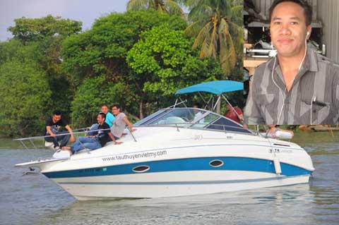 Công ty của Kelvin Đặng sở hữu hàng trăm mẫu du thuyền, ca nô và mô tô nước các loại